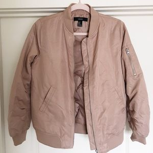 Tan bomber jacket